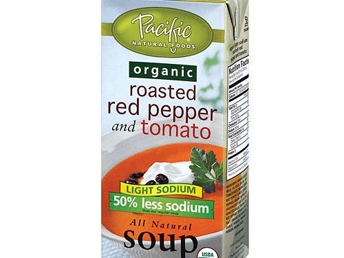 Pacific Natural Foods Organic Light Sodium Roasted Red Pepper and Tomato Soup