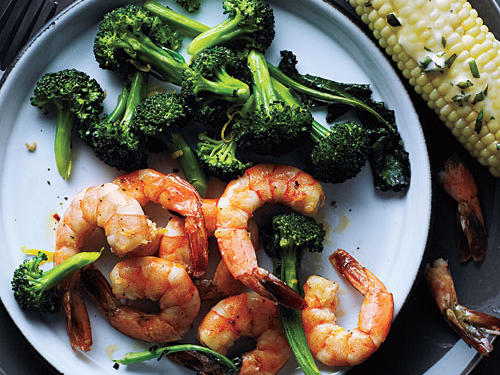 Roasted Shrimp and Broccoli Recipe