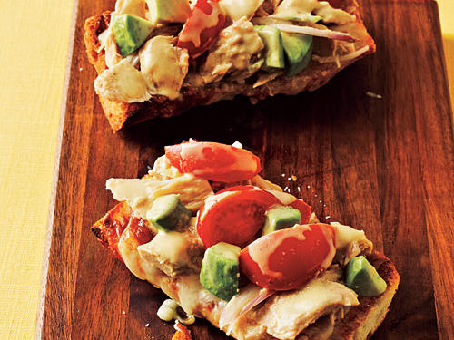 Top-Rated Budget: Tuna Melts with Avocado
