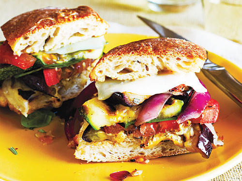 Grilled Farmers' Market Sandwiches