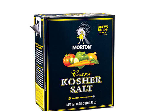 Sodium in Kosher Salt