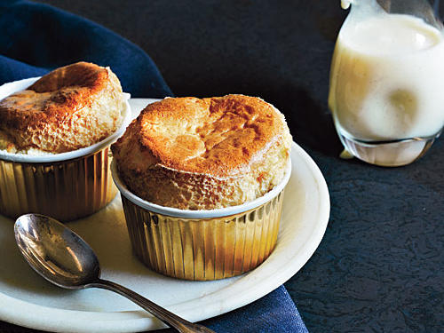 1106 Best Brown Sugar Soufflés with Crème Anglaise