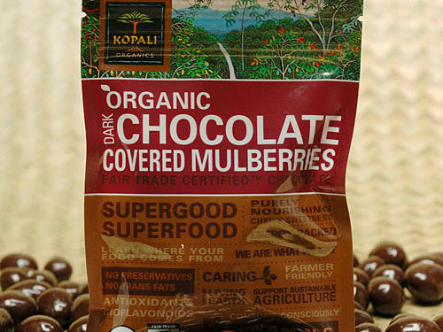 Kopali Organic Dark Chocolate Covered Mulberries