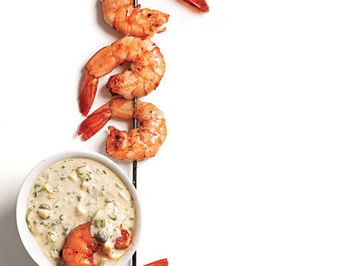 Cajun-Spiced Smoked Shrimp with Rémoulade Recipe