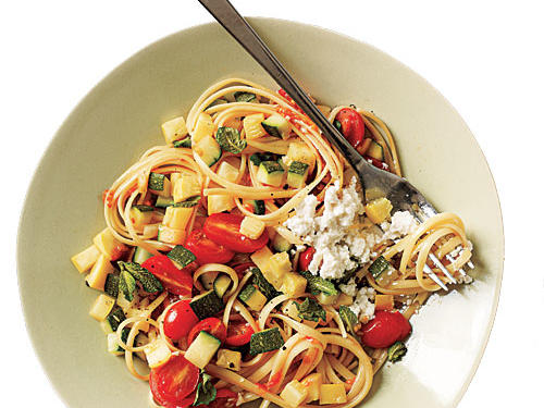 Linguine with Quick Lemon Ricotta