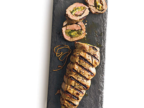 Stuffed Cuban Pork Tenderloin Recipe