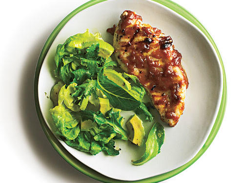 Make-Ahead Dinners: Grilled Chicken with Bourbon Peach Butter