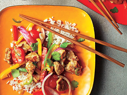 Baja Pork Stir-Fry Recipe