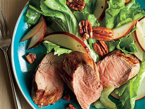 Grilled Pork Salad Recipe