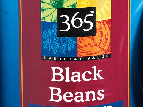 Whole Foods 365 Everyday Value No Salt Added Black Beans