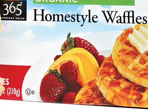 Whole Foods 365 Everyday Value Organic Homestyle Waffles