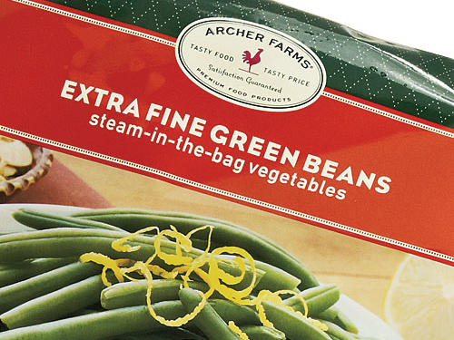 1510 Archer Farms Steam-in-the-Bag Extra Fine Green Beans