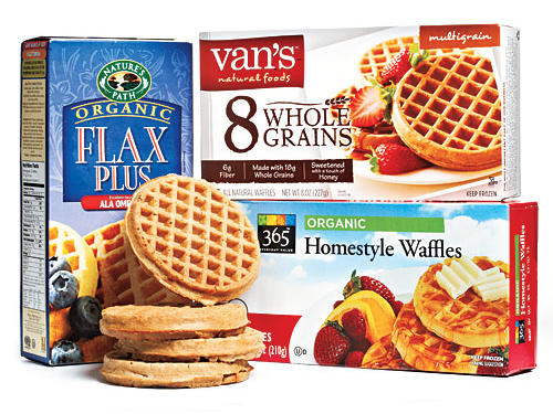 Whole-Grain Frozen Waffles