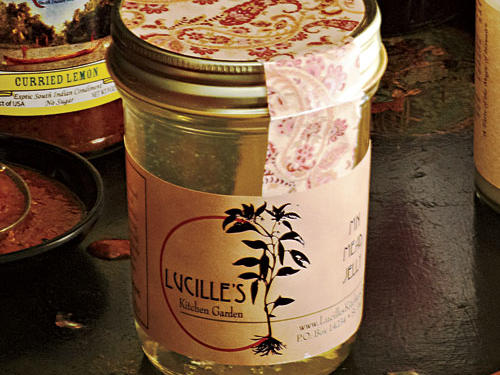 Lucille's Kitchen Garden Minnesota Mead Jelly