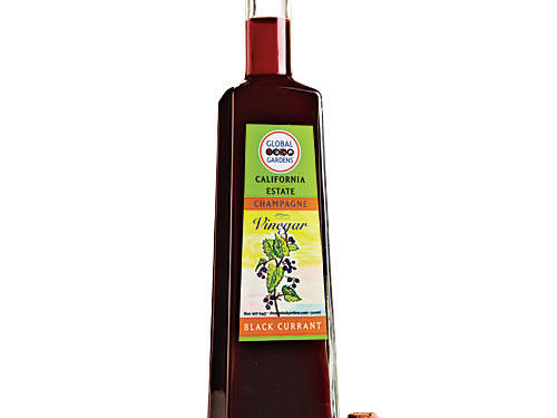 Global Gardens Black Currant Champagne Vinegar