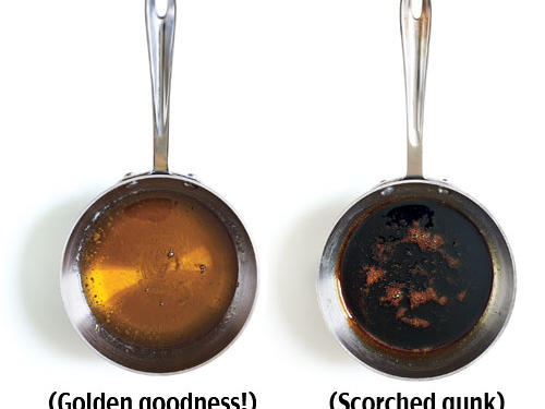 How to Avoid Burnt Caramel