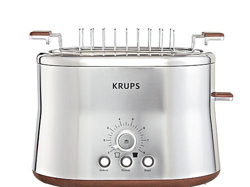 Krups  Silver Art  2 Slice Toaster and Bun Warmer