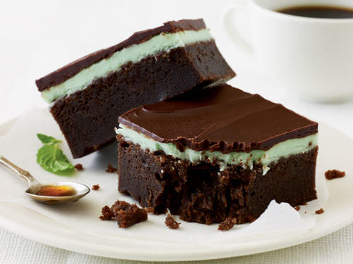 Chocolate-Mint Bars