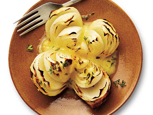 Real Cooking: Slow-roasted onions with melted cheese