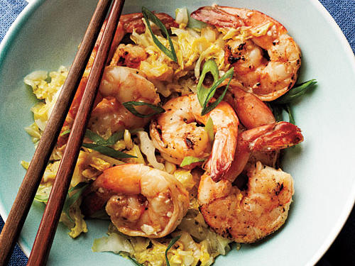 Cantonese-Style Shrimp and Napa Cabbage Recipe