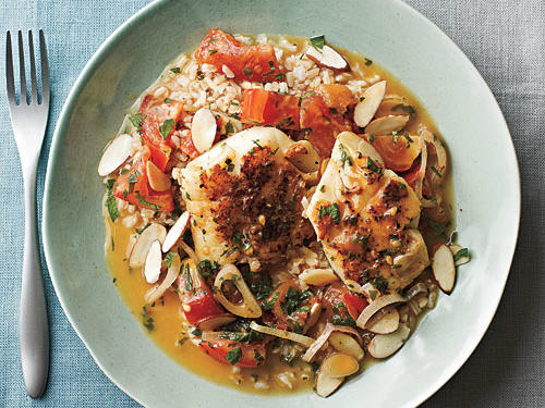 Spanish-Style Cod in Tomato Broth