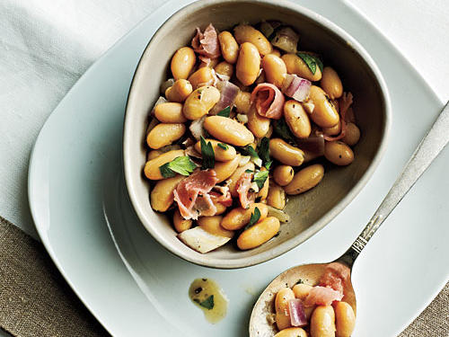 White Beans with Prosciutto Recipe