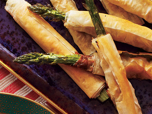 Phyllo-Wrapped Asparagus with Prosciutto Recipe