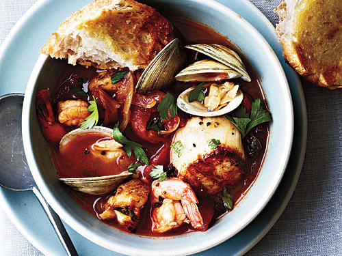 Seafood Cioppino Recipe