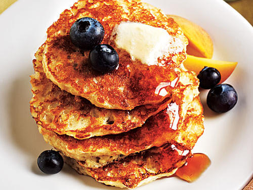 Oatmeal Pancakes Cooking Light Diet