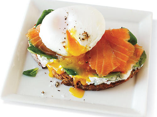 Smoked Salmon and Egg Sandwich Comfort Food