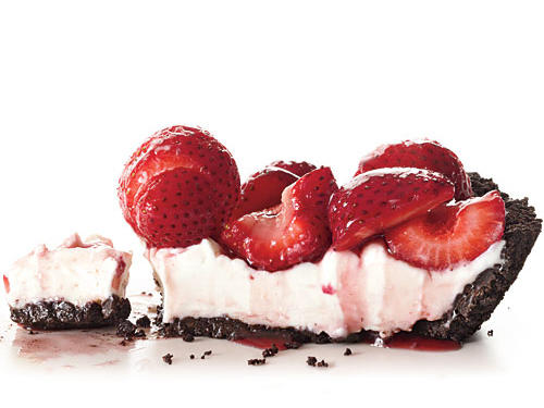No-Bake Fresh Strawberry Pie Dessert Recipe