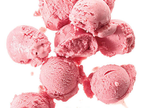 Strawberry-Buttermilk Sherbet Dessert Recipes