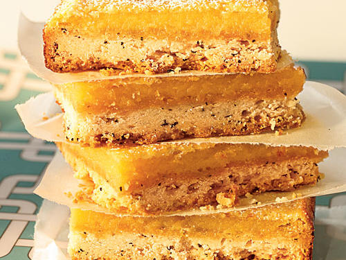 Lemon-Earl Grey Squares Recipe