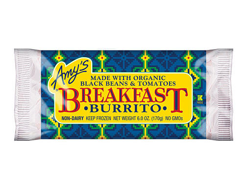 Amy's Organic Black Bean & Tomato Breakfast Burrito