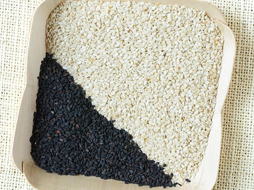 A Fast Trick for Sesame Seeds
