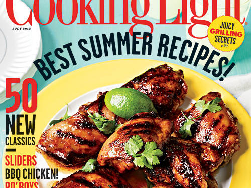 Cooking Light July 2012 Cover
