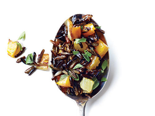 Wild Rice with Bell Pepper and Fennel