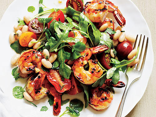 Herbed Shrimp and White Bean Salad Recipe