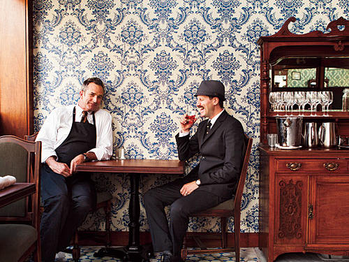 San Francisco Restaurants: Comstock Saloon