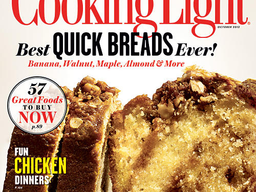 Cooking Light October 2012 Cover