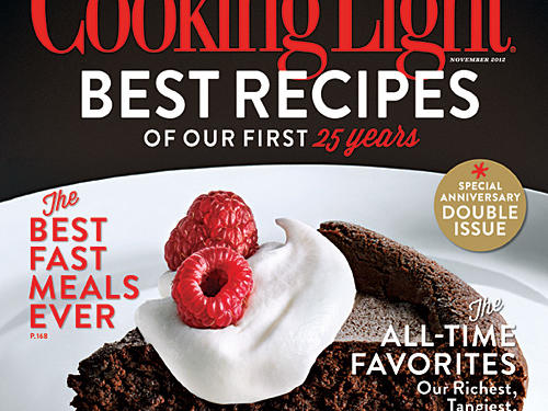 Cooking Light November 2012 Cover