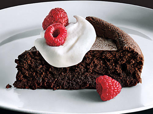 Baked Chocolate Mousse
