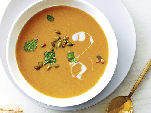 1211 Red Lentil-Pumpkin Soup