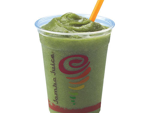 Jamba Juice Apple 'N Greens Smoothie