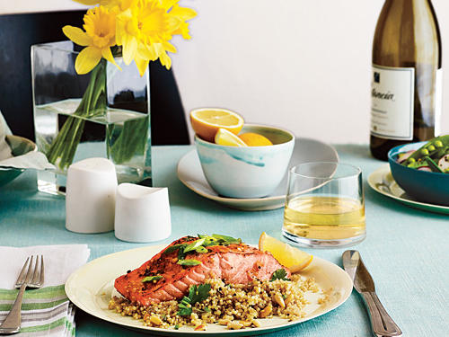 Salmon and Quinoa Menu