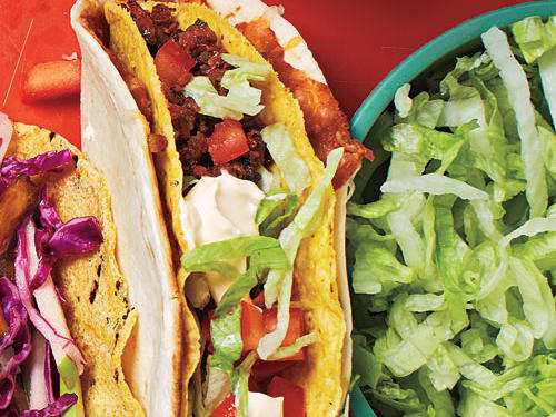 Double-Layer Beef Tacos