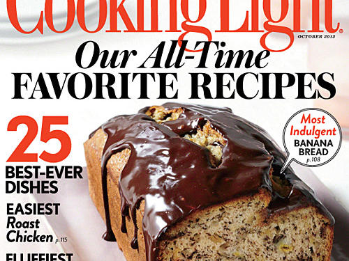 Cooking Light October 2013 Cover