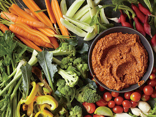 Catalonian Pepper and Nut Sauce (Salsa Romesco) (Salsa Romesco)