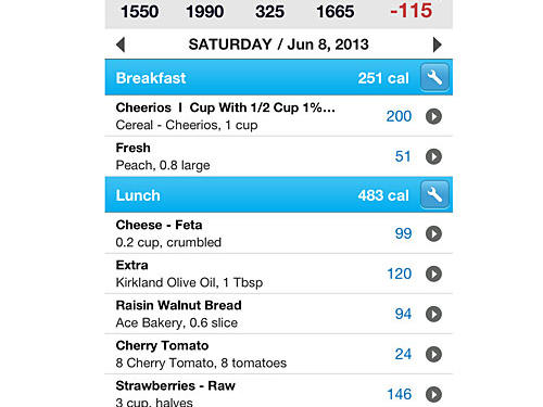 6. Get Religious About Tracking Calories