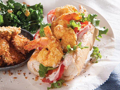 Shorty Shrimp Po'boys
